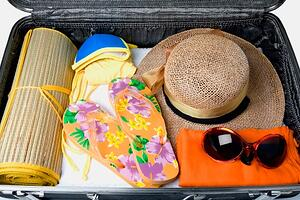vacation suitcase
